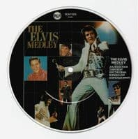 ELVIS PRESLEY Jailhouse Rock Vinyl Record 7 Inch RCA 1983 Picture Disc